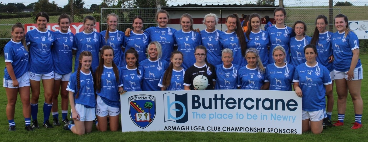 ULSTER EXIT FOR LURGAN GIRLS