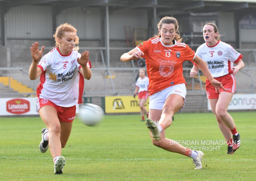 CHAMPIONS ARMAGH MARCH INTO FINAL